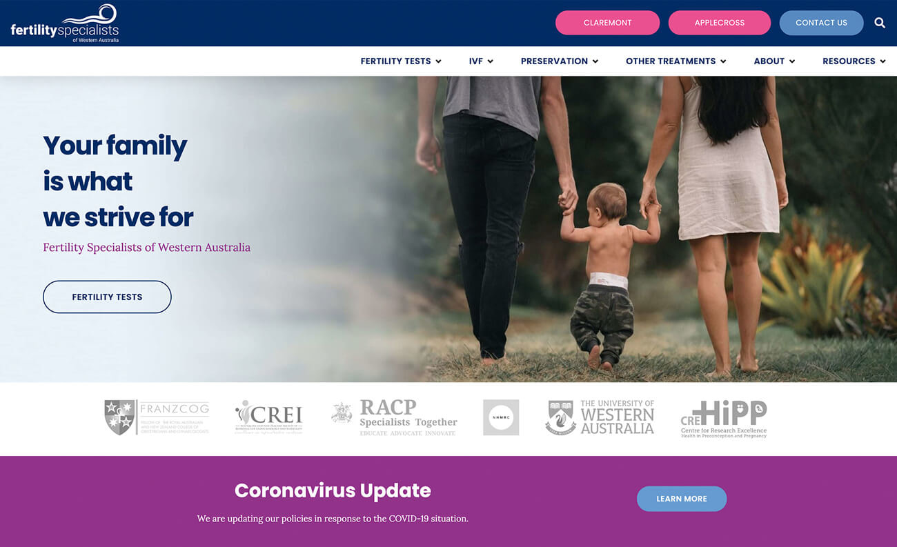 Digital Practice OB-GYN - Fertility Specialists of Western Australia