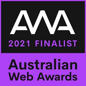 Digital Practice Australian Web Awards Finalist