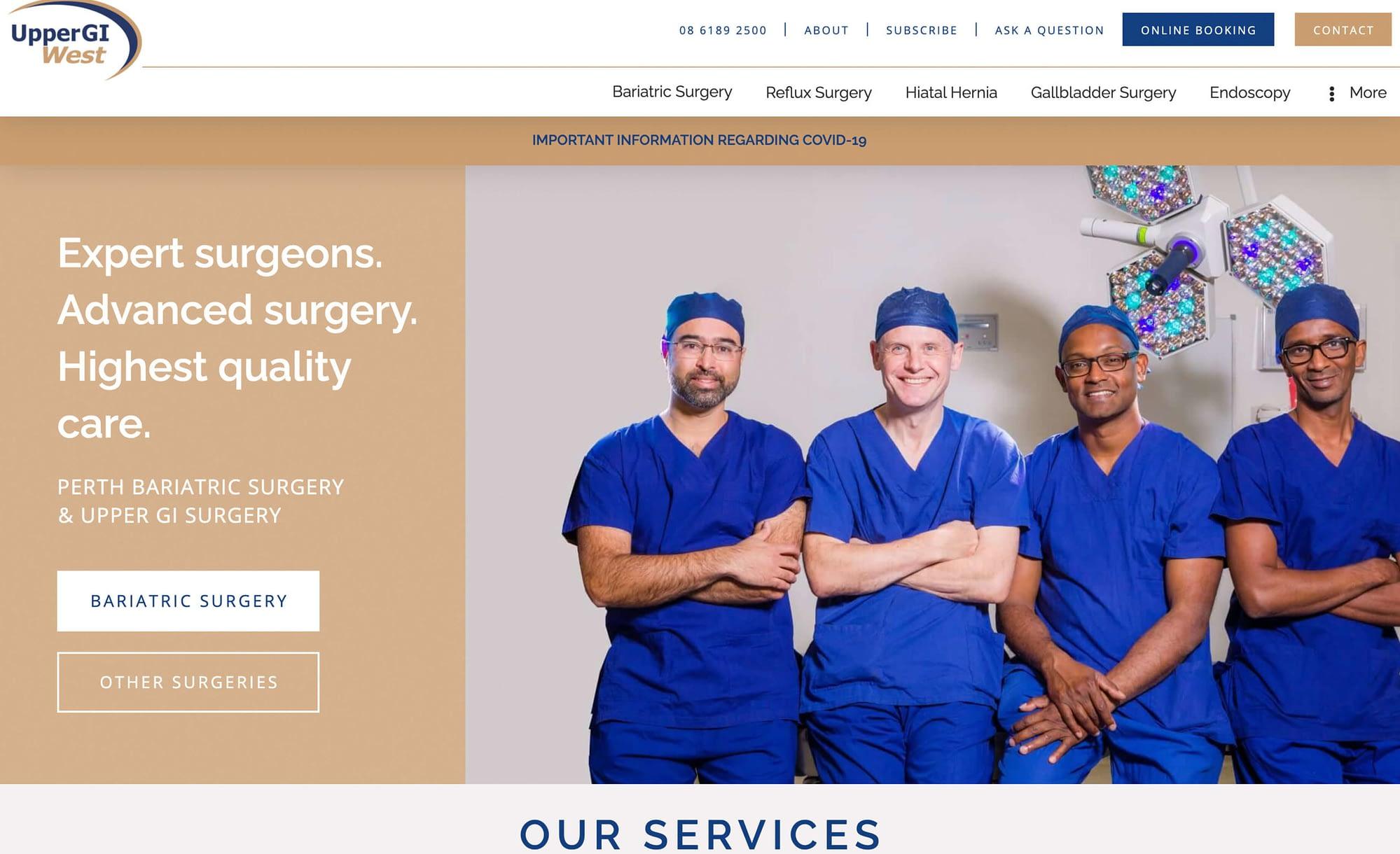 Upper GI West | Bariatric Surgery