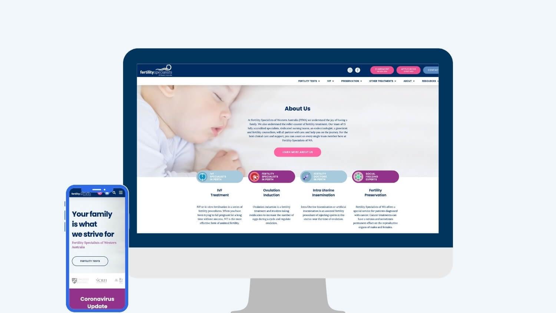 Fertility marketing - Fertility Specialists of Western Australia | Digital Practice