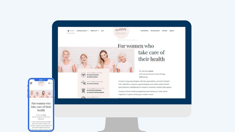Fertility marketing - The Woom | Digital Practice