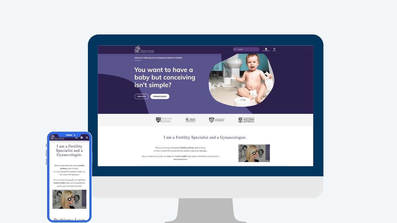 Gynaecology marketing agency - Dr Tamara Hunter | Digital Practice