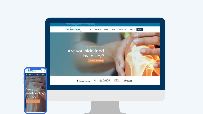 Orthopaedic Digital Marketing - Dr David Colvin | Digital Practice