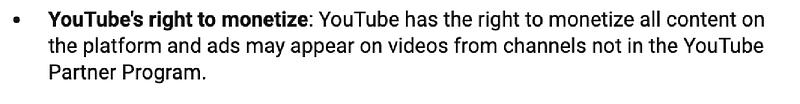 Video hosting you tube monetise