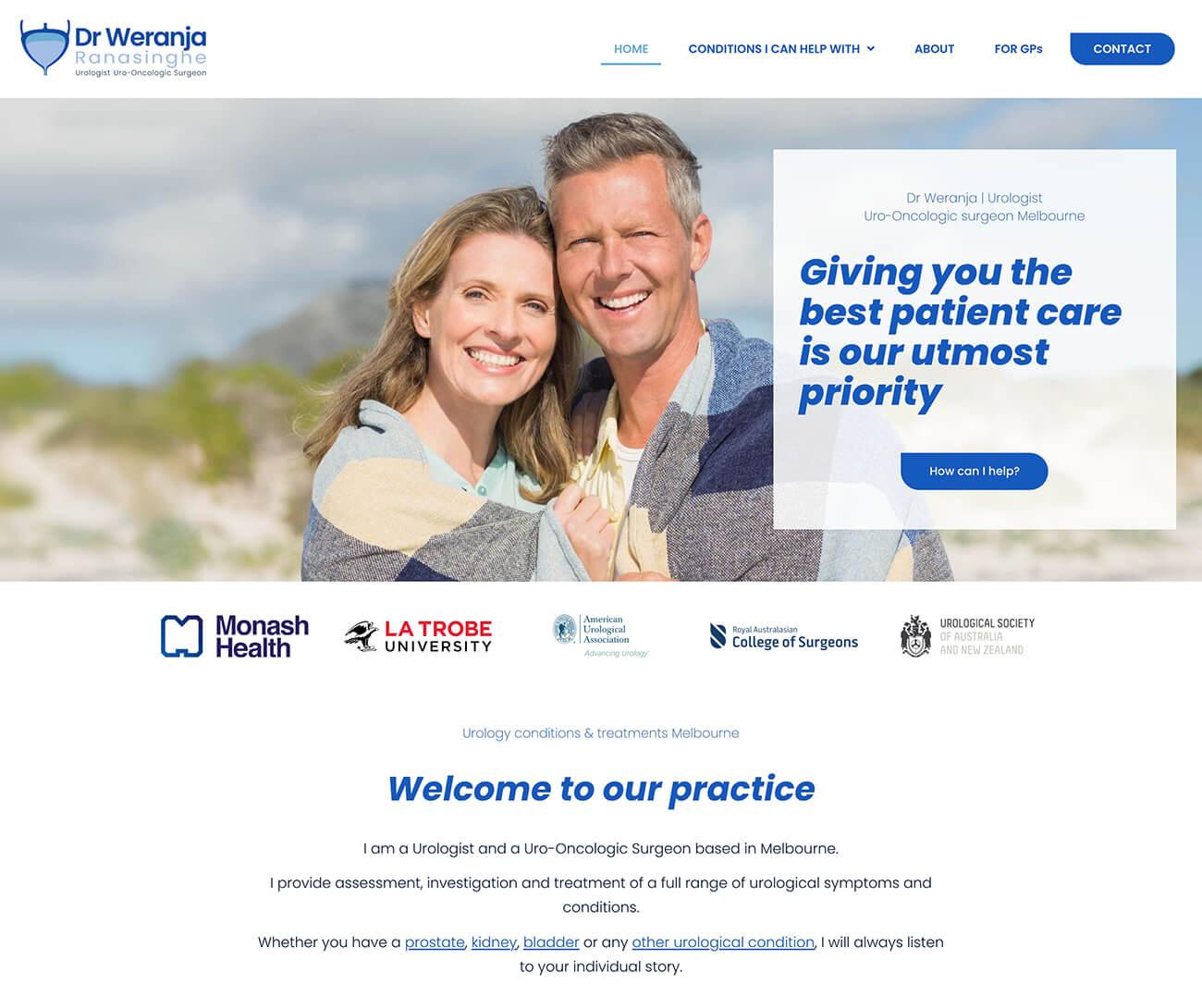 medical websites urology