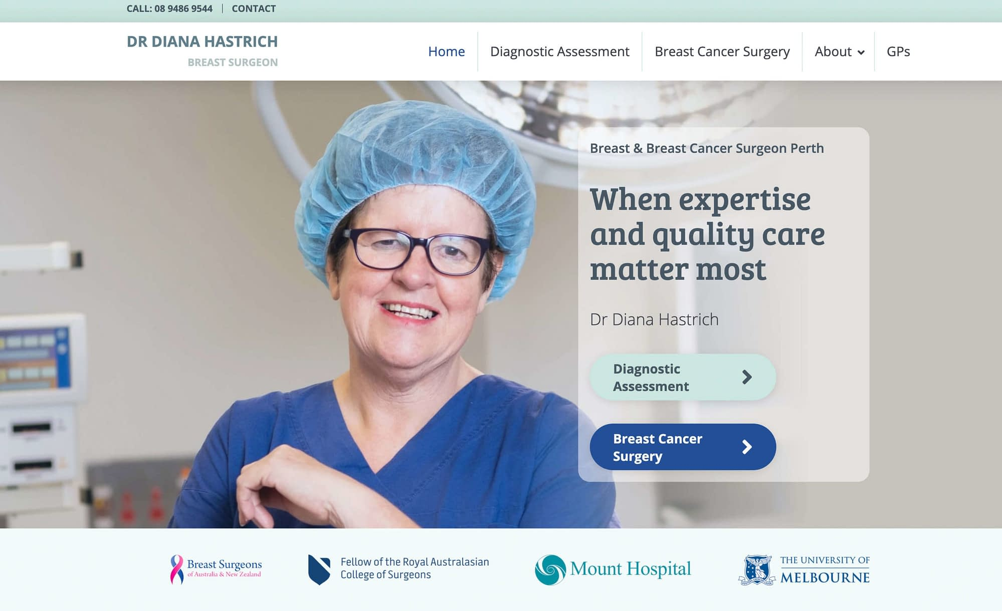 Dr Diane Hastrich | Breast Surgery