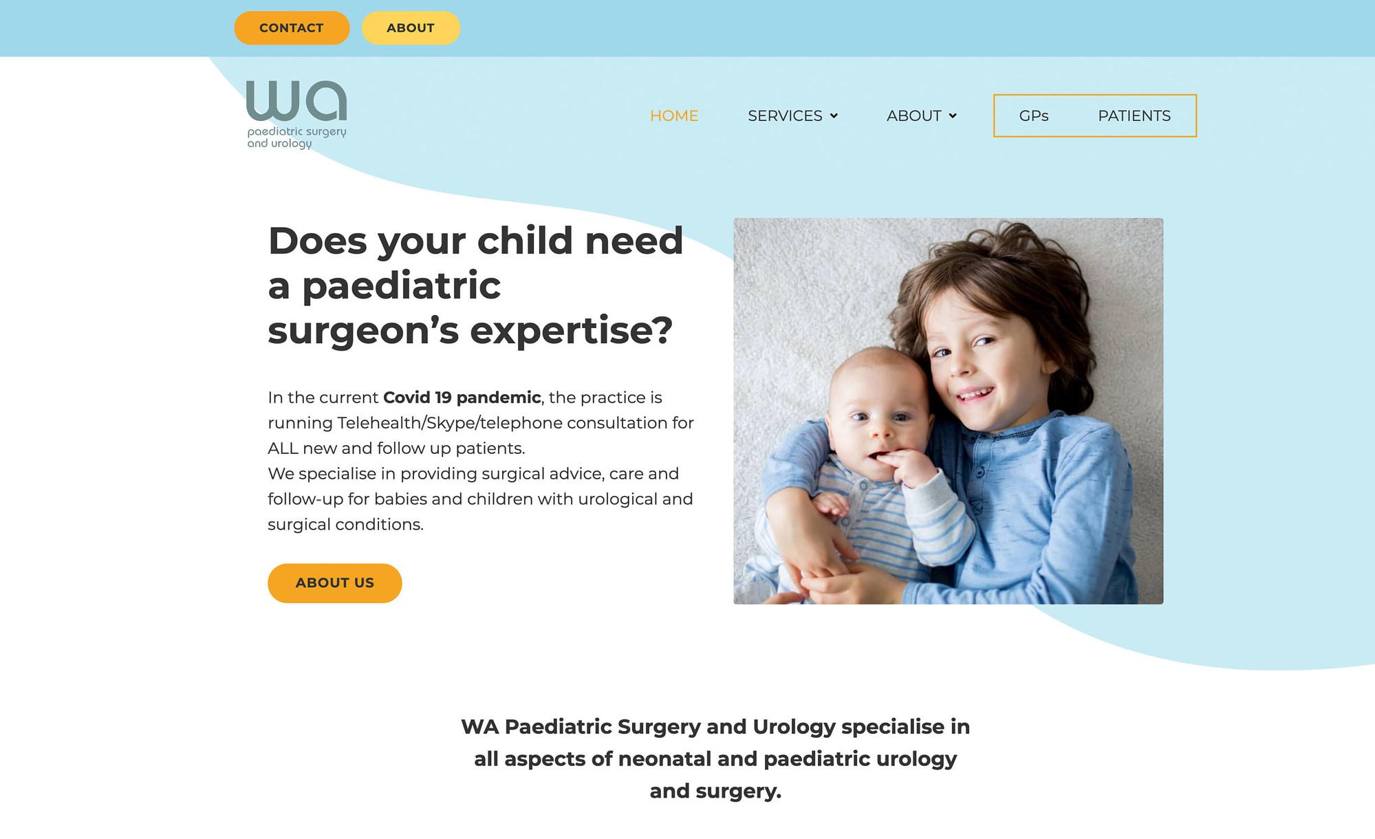 WA Paediatric Surgery & Urology